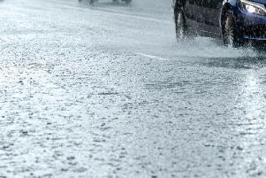 Outbreaks of heavy rain is set to hit the North East this evening