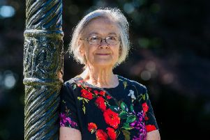 Baroness Hale, pictured at her home in Richmond. Pic: James Hardisty