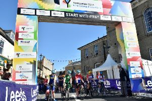 Wetherby enjoyed hosting para-cyclists last Saturday and will tomorrow welcome world-class junior cyclists.
