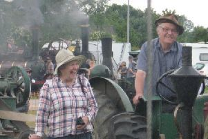 Vintage tractor experts to give talk.