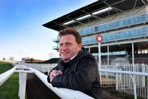 Wetherby racecourse Chief executive Jonjo Sanderson. TJ1006033h Picture Tony Johnson