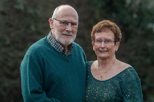 David and Valerie Todd, of Second Avenue, Wetherby, who will are celebrating their Diamond Wedding.