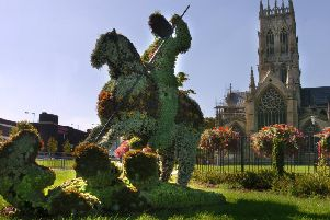 St.George became England's patron saint in the 14th century