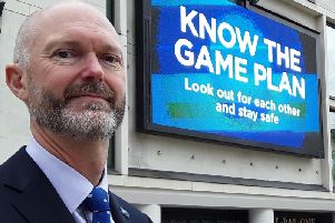Chief Superintendent Nick Aldworth, the new National Coordinator for Protect and Prepare Policing, was in Leeds today to launch the campaign.