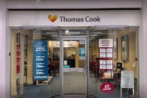 Thomas Cook will close its Accrington branch as part of plans to shut 21 stores across the UK.