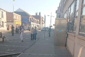 The police incident on Waterloo Road, Blackpool
