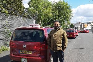 Business man and Brierfield Town Coun. Ali Ahmed, whois appealing tocharities to offer additional support toLancashire bus users who live with dementia.