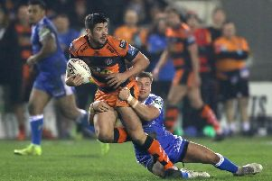 playing for his place: Forward Chris Clarkson is hoping his performances in the Super League play-offs will be enough to earn him a new deal at Castleford Tigers.