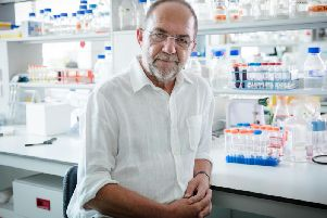 Professor Sir Alec Jeffreys, who invented DNA fingerprinting