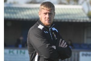 Former Barnoldswick Town boss Matt Barnes, who has been appointed as joint manager at Prestwich Heys