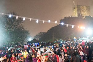 Locals gathered for last year's festive event