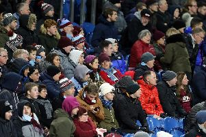 Burnley v West Ham fan photos. Photo: Rich Linley/CameraSport