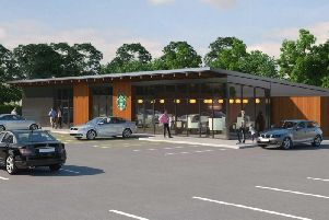 Artist's impression of the new development at the Morrison's site