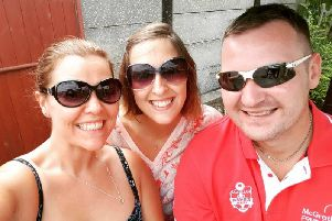 (From left) Jane, Leanne, and Matthew.