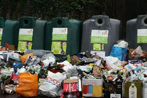 In 2018-19, 221,625 tonnes of rubbish were buried in the ground