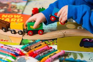 "Lancashire County Council says it is pursuing a ""twin track"" approach to the future of its nurseries - including making the case for more government funding"