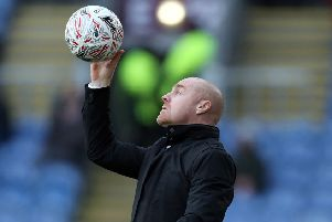 Burnley manager Sean Dyche ''Photographer Rich Linley/CameraSport''Emirates FA Cup Fourth Round - Burnley v Norwich City - Saturday 25th January 2020 - Turf Moor - Burnley' 'World Copyright � 2020 CameraSport. All rights reserved. 43 Linden Ave. Countesthorpe. Leicester. England. LE8 5PG - Tel: +44 (0) 116 277 4147 - admin@camerasport.com - www.camerasport.com