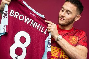 Josh Brownhill has joined the Clarets from Bristol City