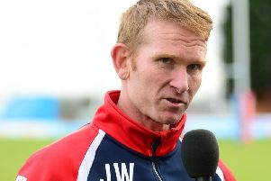 Featherstone Rovers coach James Webster. Picture by James Hardisty.