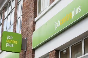 There has been a two per cent rise in the number of people receving 'bespoke' Universal Credit