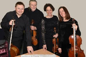 Clitheroe Concerts Society welcome back Stonebridge String Quartet who treated audiences to music by Haydn, Shostakovich and Tchaikovsky. (s)