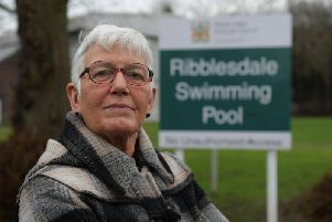 Retired Clitheroe woman, Colette Ellis-Dears (65)saidmore than half of over 60s have stopped using the pool because they fear fast swimmers couldknock and injure them. (s)