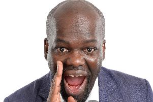 Britains Got Talent star Daliso Chaponda will get your chuckle muscles wobbling for a rip-roaring comedy show at the Grand, Clitheroe. (s)