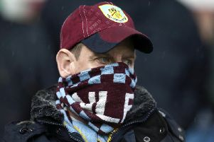 Burnley fans were left disappointed by the defeat to the ten men of Leicester
