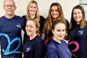 Tackling Challenges: The Lenny Agency team is raising funds for the Alzheimer's Society.
