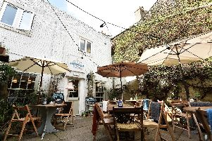 """Boasts a lovely courtyard and praised on TripAdvisor for its friendly service, good food - a """"quirky tea shop"""" said another reviewer."""