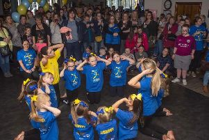 Crowds packed into the Duke of Lancaster pub in Colne for a music event to raise money for the East Lancashire Downs Syndrome Support Group.