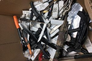 More than 180 knives have been handed into police in Lancashire as part of a major national campaign aimed at tackling knife crime.