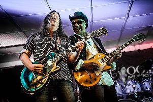 The Marcus Malone and Innes Sibun Band will rock the Barnoldswick Music and Arts Centre on Thursday, April24th. Credit: John Bull. (s)
