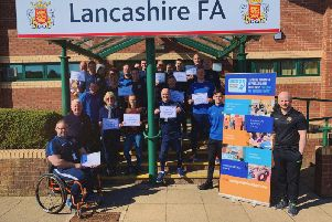 The Lancashire FA have signed up to Dementia Friends