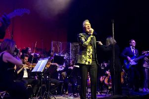ABC with 50-piece Southbank Symphonia orchestra performing Lexicon Of Love at Sheffield City Hall