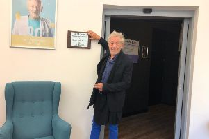 "Sir Ian McKellen CBE has praised Burnley Youth Theatre's ""amazing"" work with young people during an inspiring visit to the town."