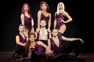 The world famous Betty Legs Diamond and the Funny Girls cast will perform at Blackpool Pride