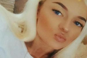Daisy Simpson, 20, has been found safe after going missing from her home in Loveclough, on the edger of the Rossendale Valley. Pic-Lancashire Police