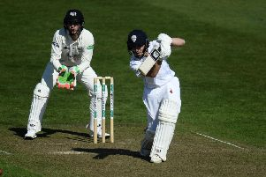 Tom Lace made a century for Derbyshire.