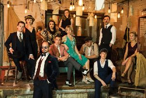 Incredible show - Part of the cast of The Great Gatsby at Harrogate Theatre.