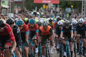 Action from the Colne Grand Prix