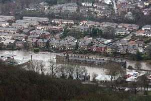 Mytholmroyd, like many parts of the Calder Valley, was hit badly during the 2015 Boxing Day floods.