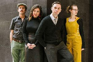 Bill and the Belles are bringing their vintage vibe to Barnoldswick Art and Music Centre.
