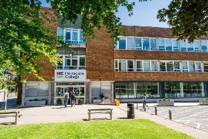 Troubled Harrogate College is looking forward to a better future.