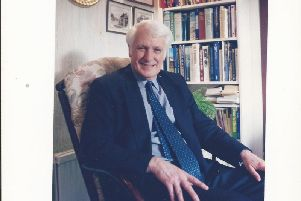 The late Malcolm Blackburn