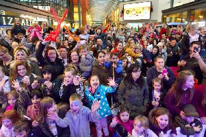 Trinity Walk has announced when its free Christmas light switch on event will be and what will be happening.