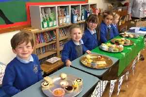 Class 1 pupils at Barmby Moor CE Primary School raised �160 for Macmillan Cancer Support.