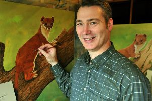 The main thread of the Weasels: Feisty and Fearless programme is based at Robert Fuller's gallery in Thixendale.