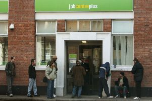 Department for Work and Pensions statistics show 4,670 people in the East Riding of Yorkshire claimed out-of-work benefits in August. Photo: PA Images.