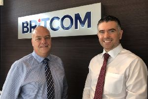 New Britcom associate directors Brent Carmichael and Adam Day.